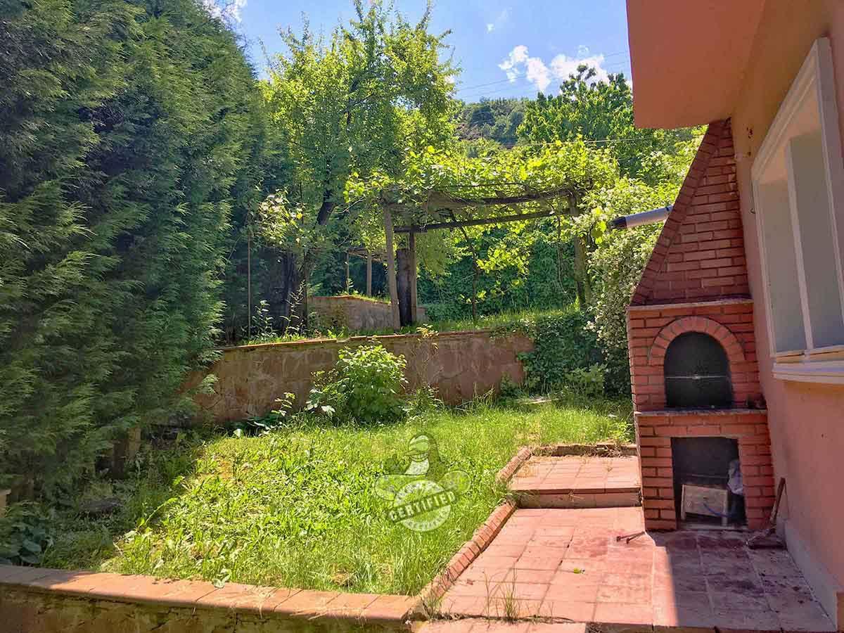 kartepe maşukiye kiralık villa-mangal