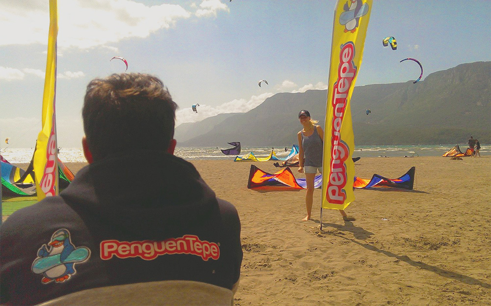 penguentepe kitesurf