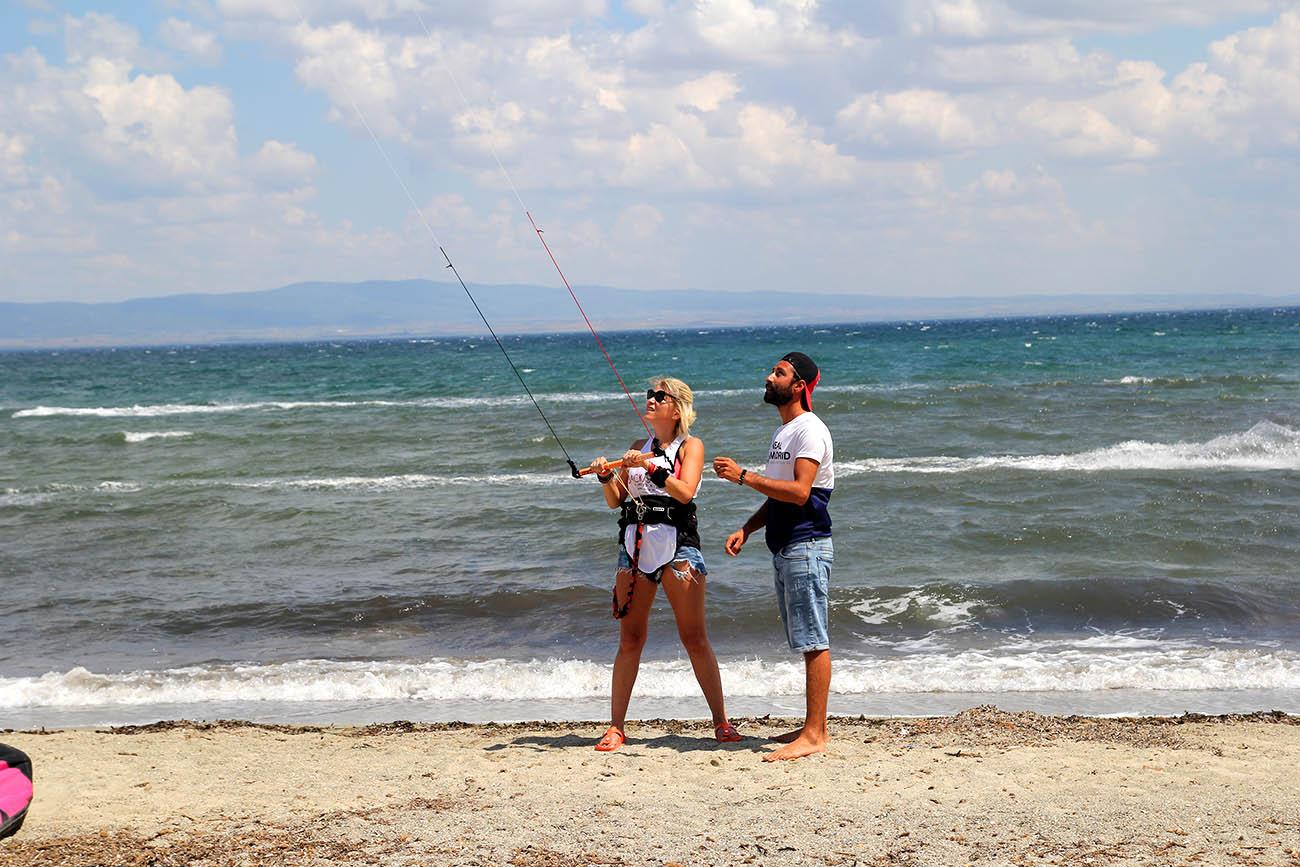 kiteboard eğitimi penguentepe