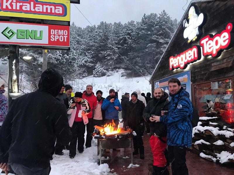 günübirlik kartalkaya kayak turu